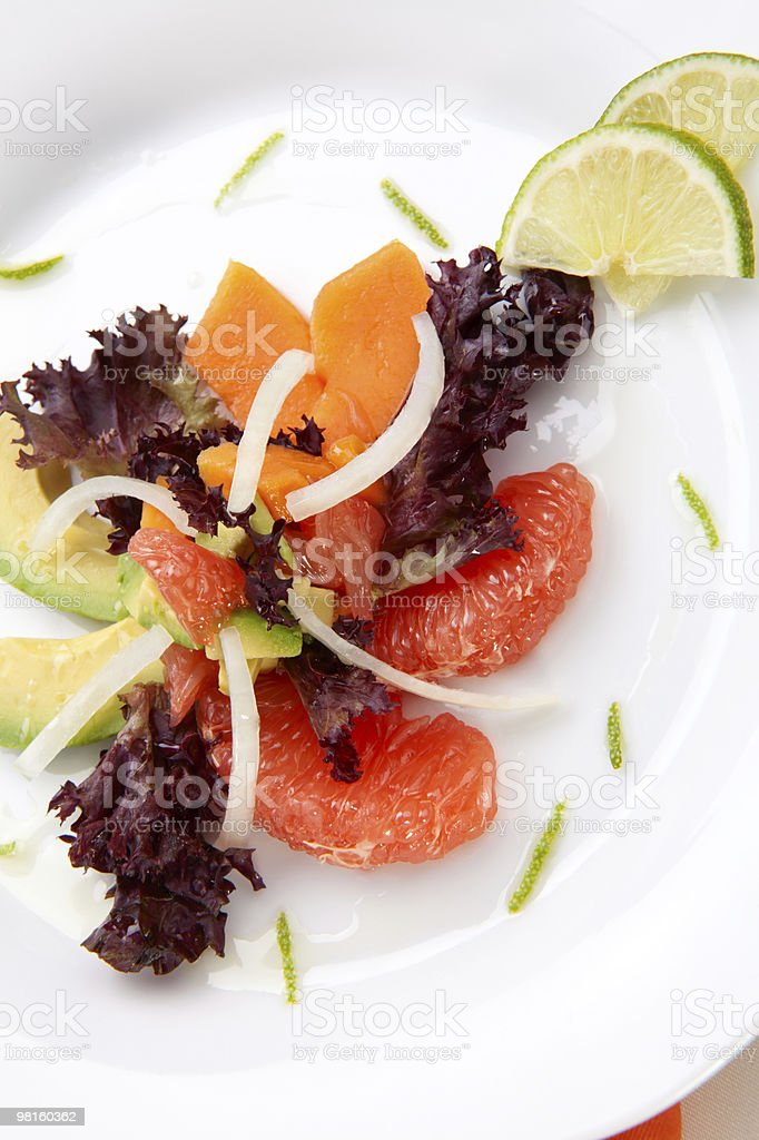 Tropical Salad royalty-free stock photo