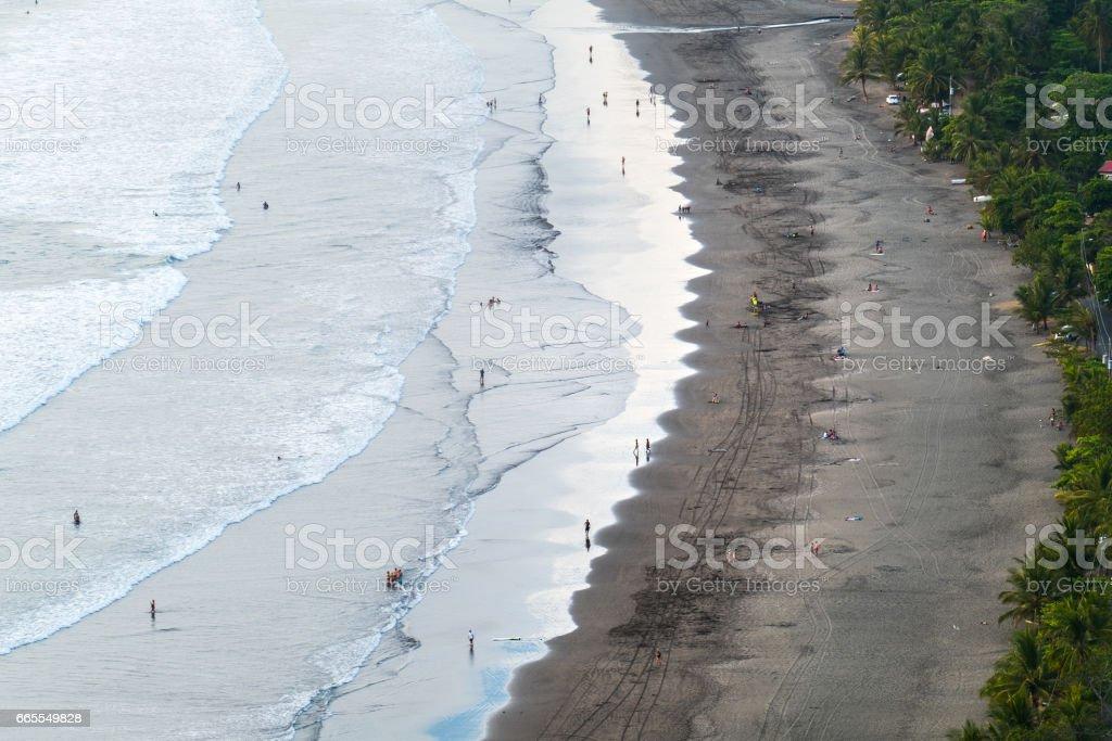 Tropical sandy beach stock photo