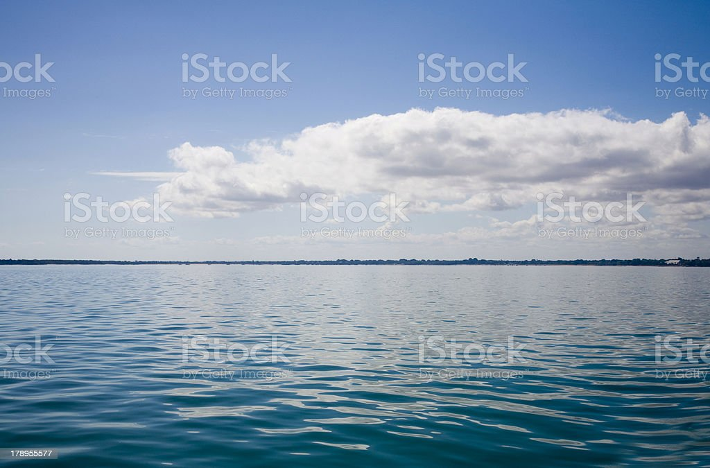Tropical Sea and Sky Background royalty-free stock photo