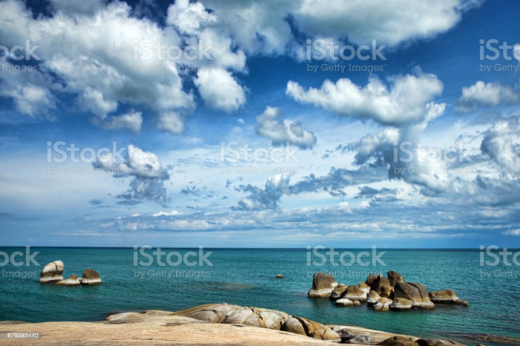 tropical sea royalty-free stock photo