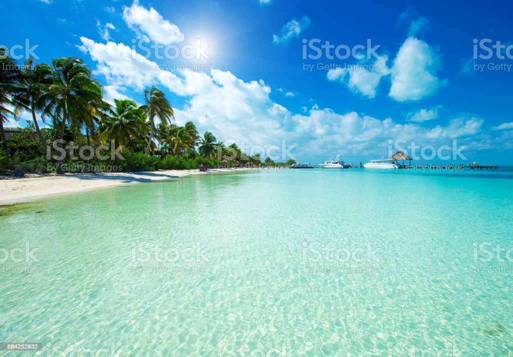 tropical sea royalty-free stock photo