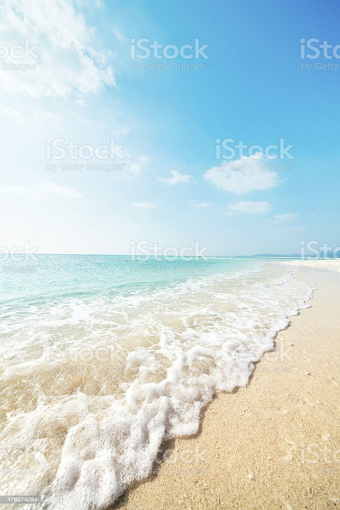 seascape Tropical - foto de stock