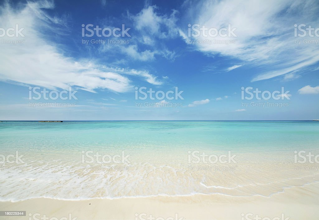 tropical seascape bildbanksfoto