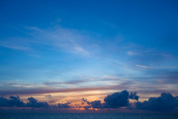 Tropical Sky stock photo