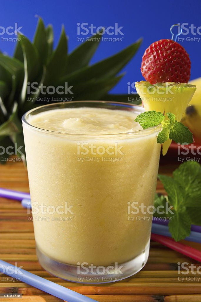 Tropical Smoothie royalty-free stock photo