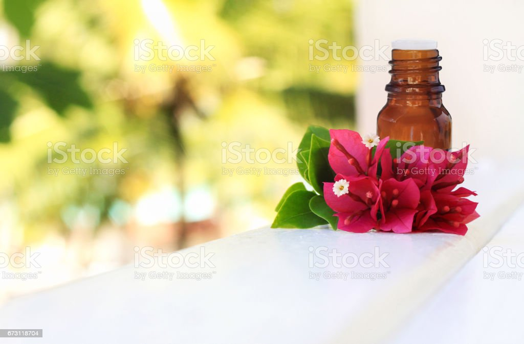 Tropical spa background. stock photo