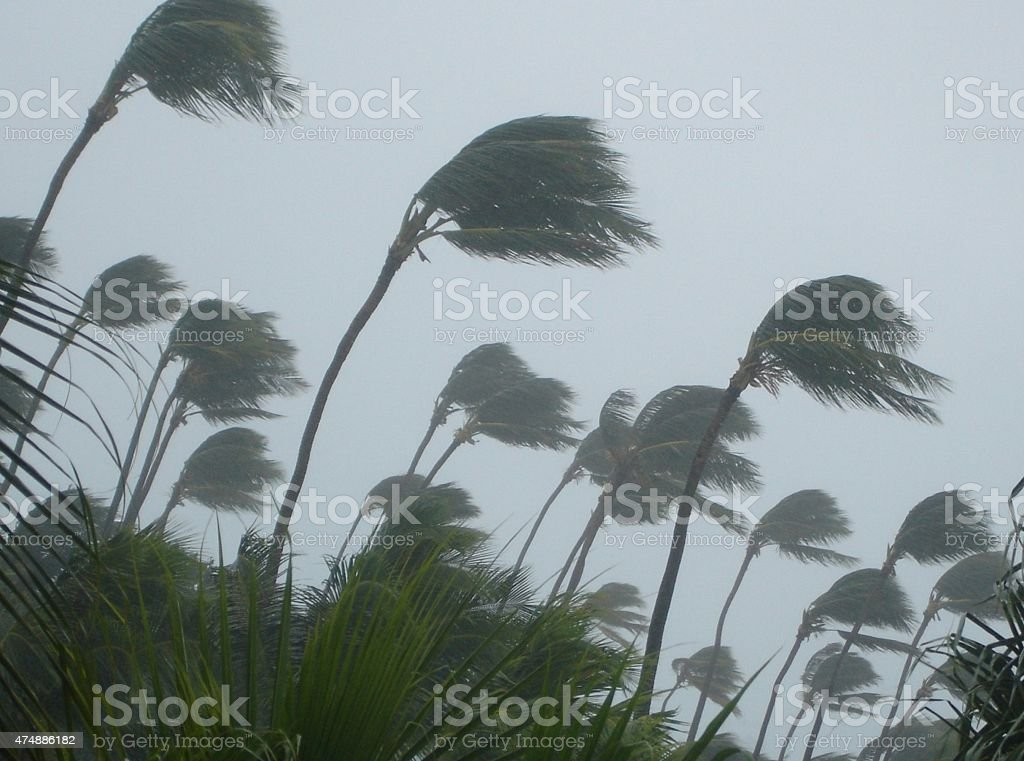 Tormenta tropical - foto de stock