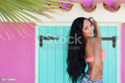 1003539592 istock photo Tropical summer holiday fashion beauty concept 501139683
