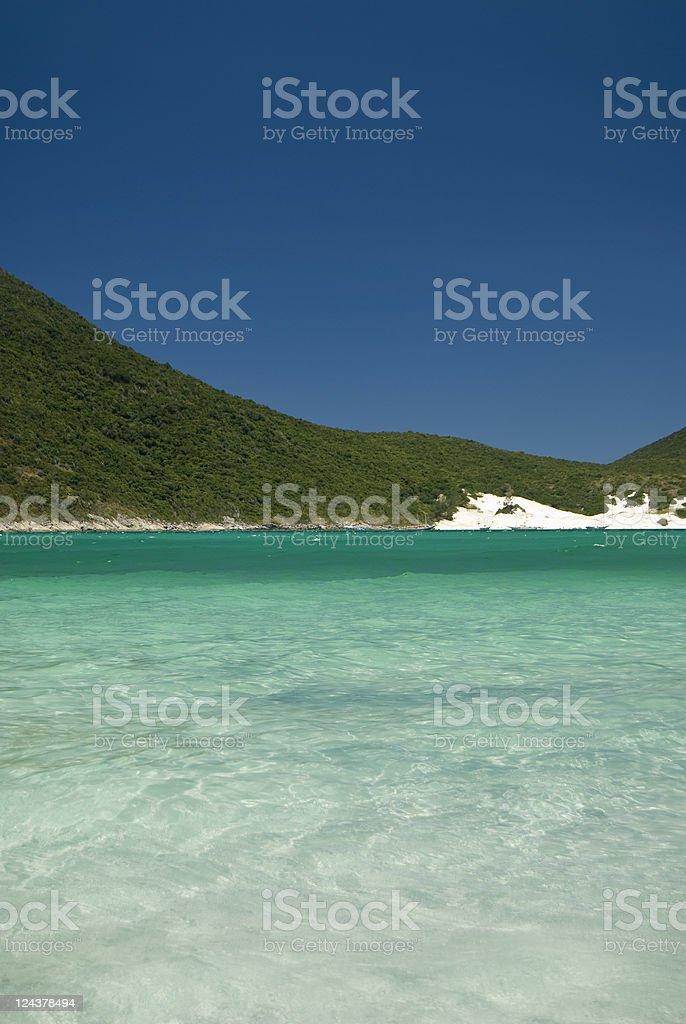 Verão Tropical cena - foto de acervo