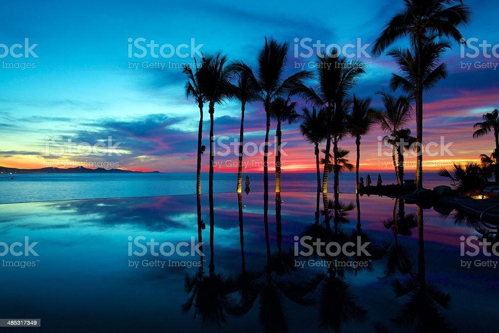 Tropische Sonnenaufgang – Foto