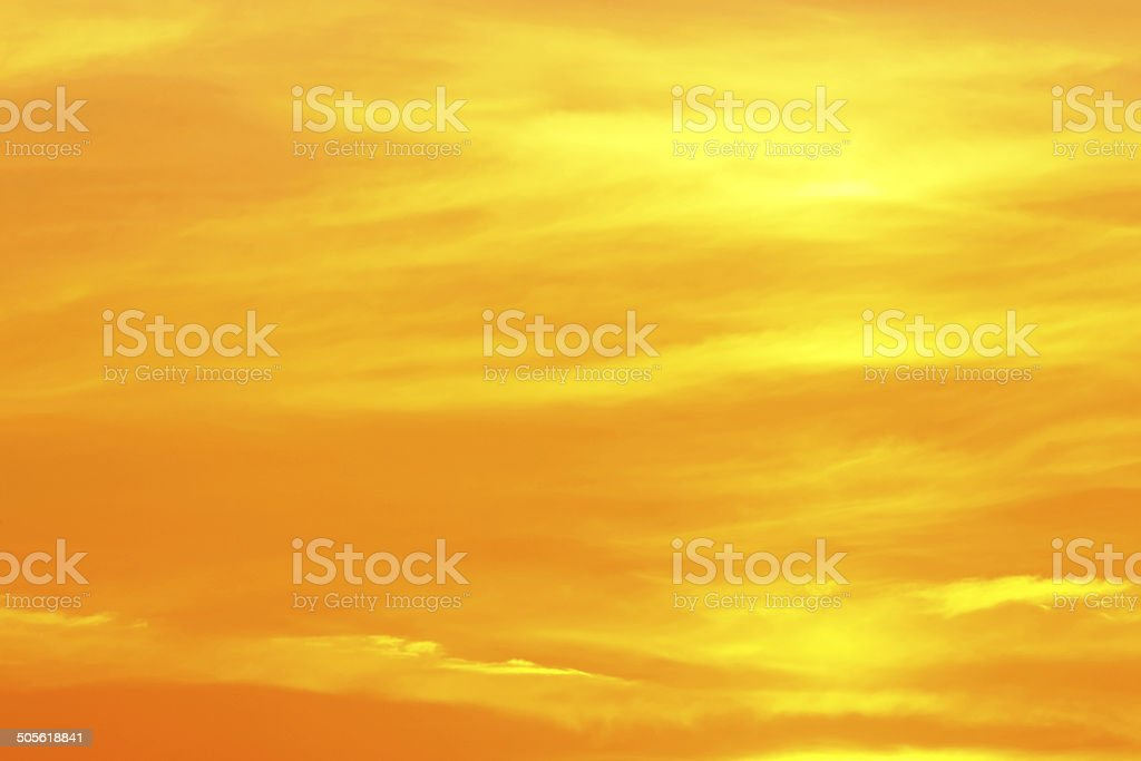 Tropical sunset background stock photo
