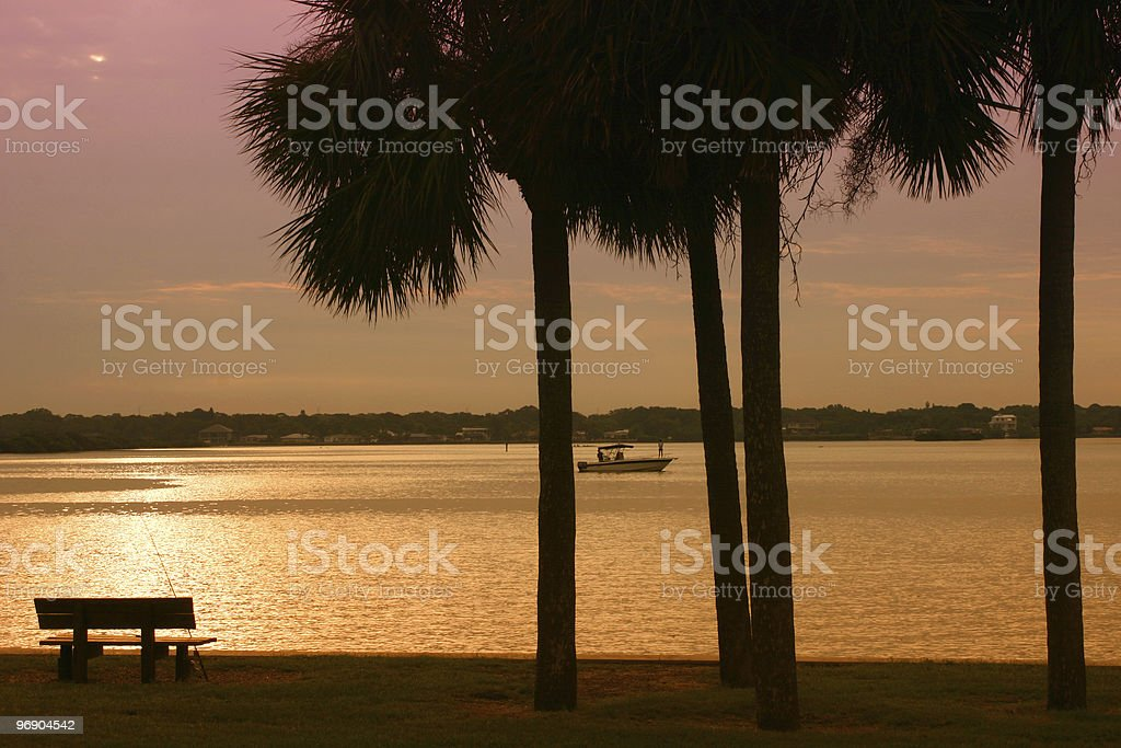 Tropical Sunsrise royalty-free stock photo