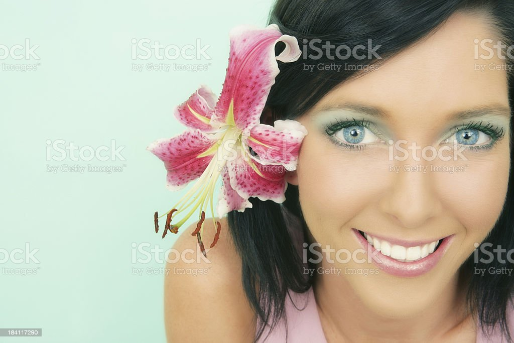 Tropical Surprise royalty-free stock photo