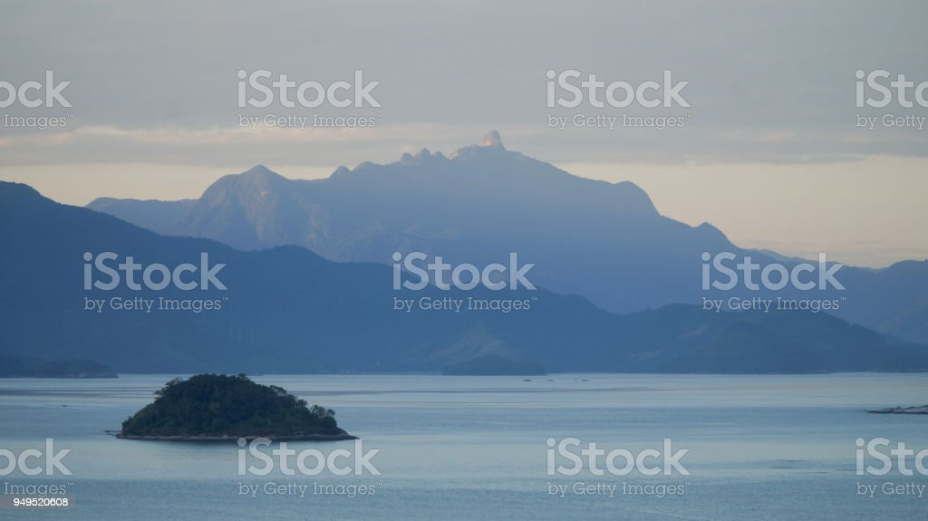 Tropical town of Paraty in Brazil. stock photo