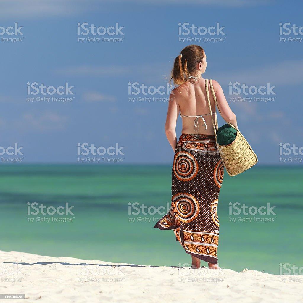 Tropical vacation royalty-free stock photo