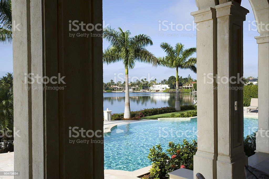 Tropical View stock photo
