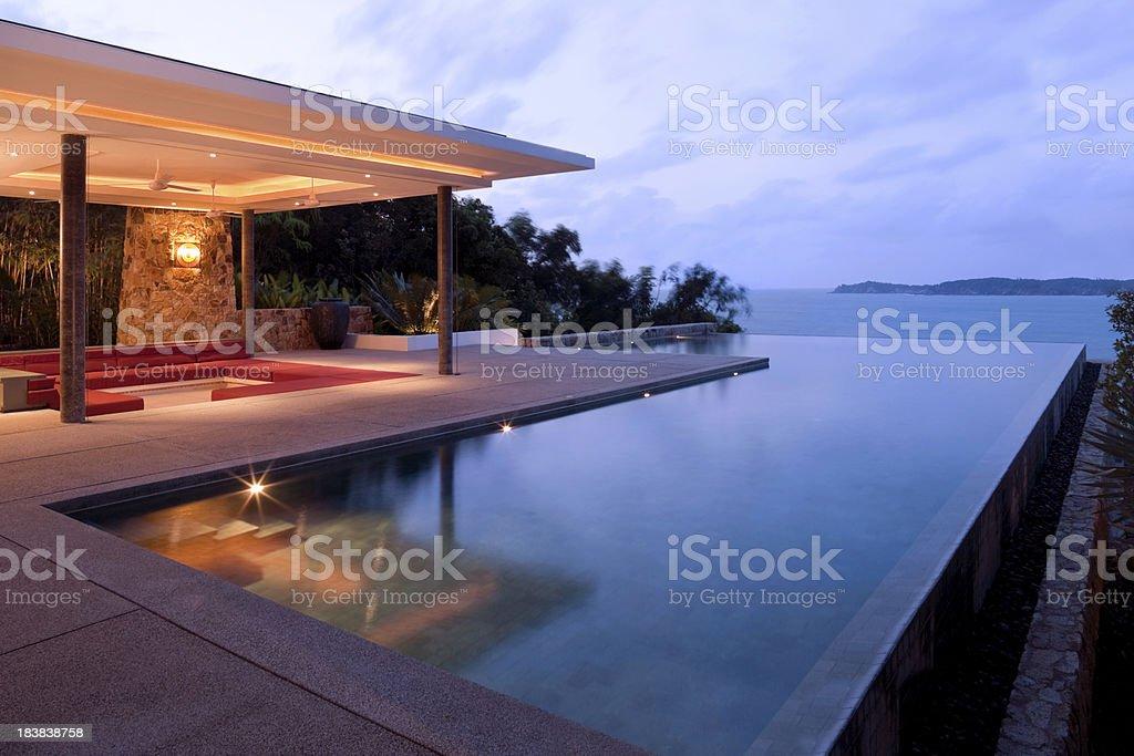 Tropical Villa royalty-free stock photo