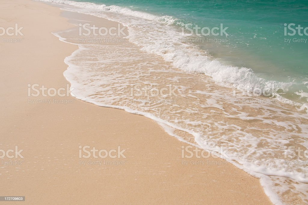 Tropical Wash royalty-free stock photo