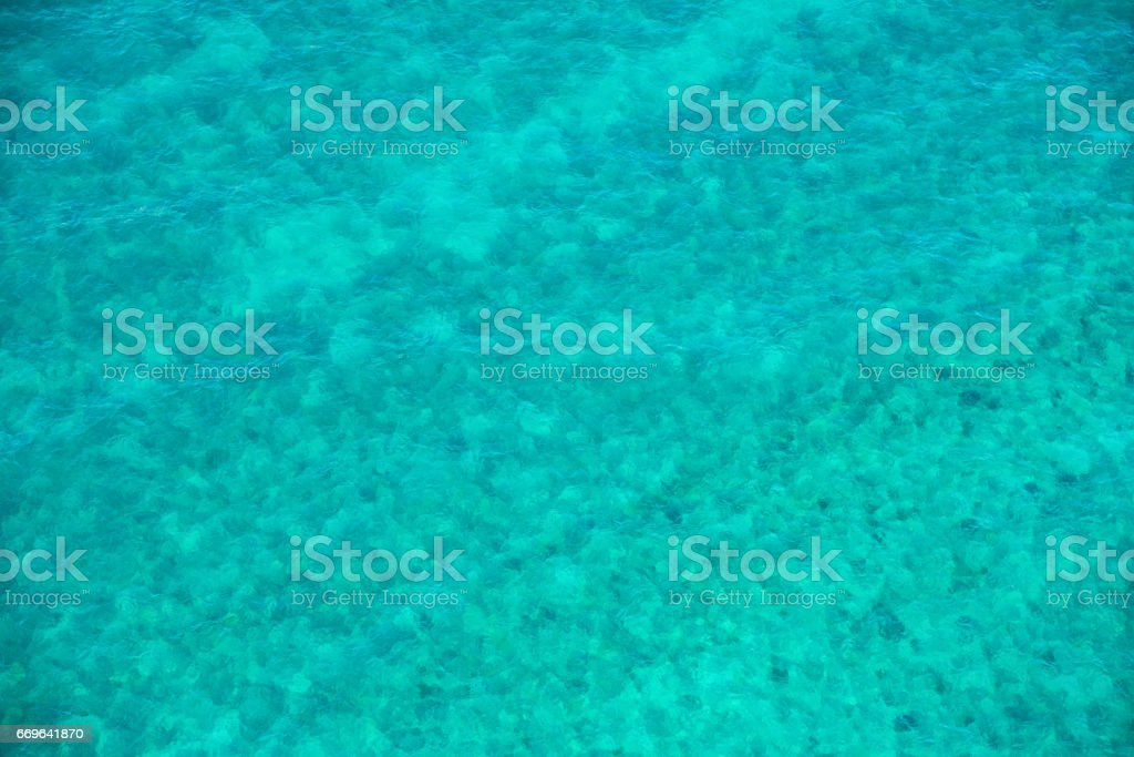 Tropical Water Background stock photo