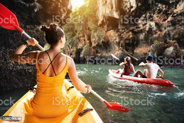 Photo of Tropics sea kayaking with friends
