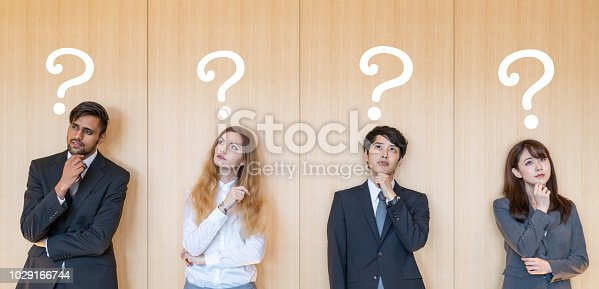 istock Troubled business persons. 1029166744