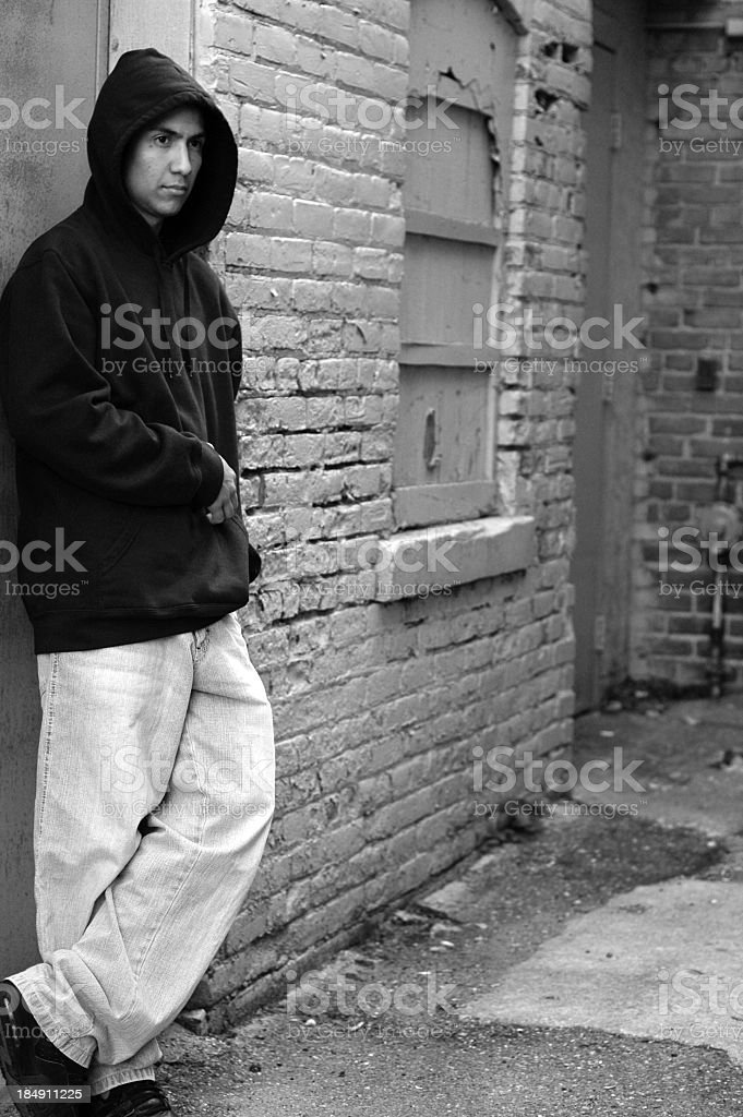 Troubled Young Man royalty-free stock photo