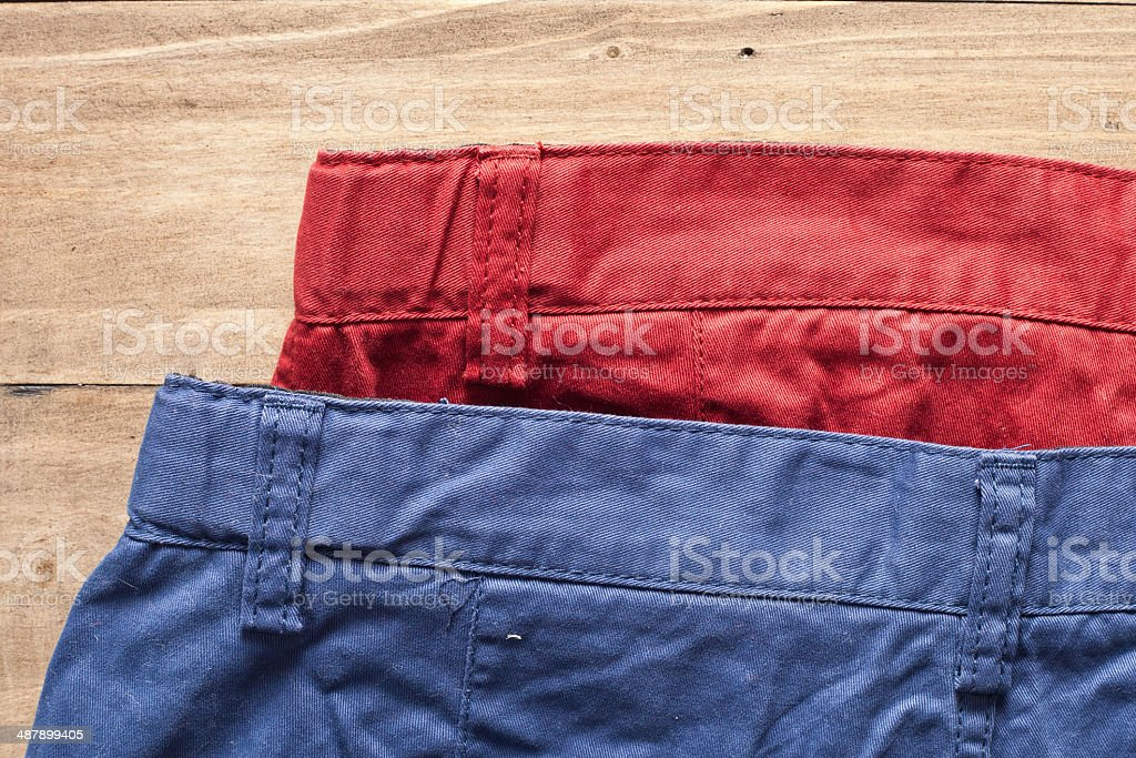 Trousers stock photo