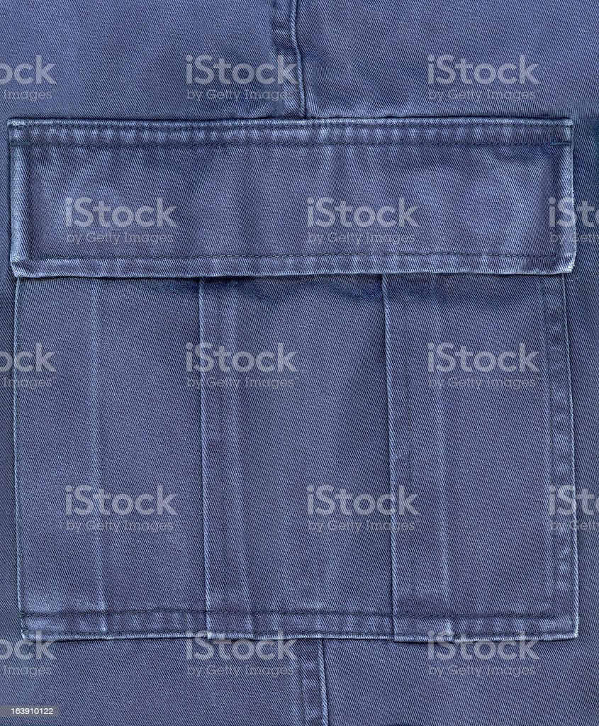Trousers pocket royalty-free stock photo