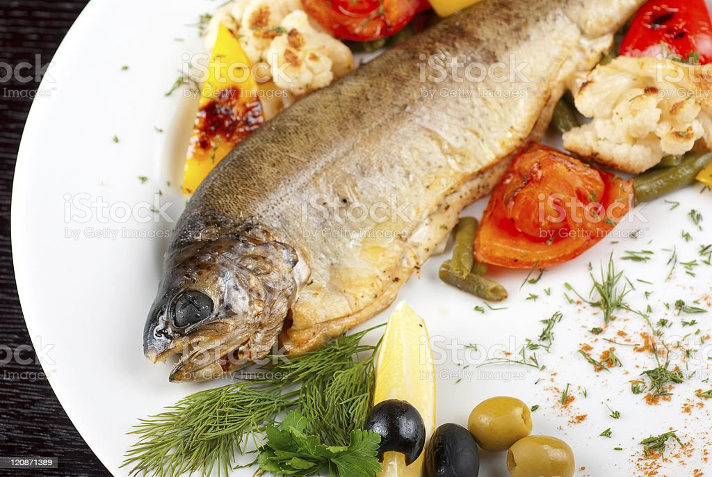 trout fish royalty-free stock photo