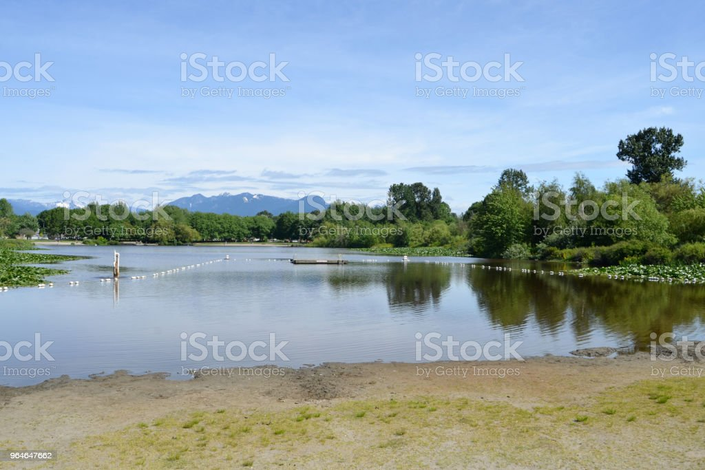 Trout Lake in Vancouver royalty-free stock photo