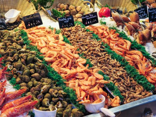 盧維爾, 諾曼第, 法國魚市場圖像檔