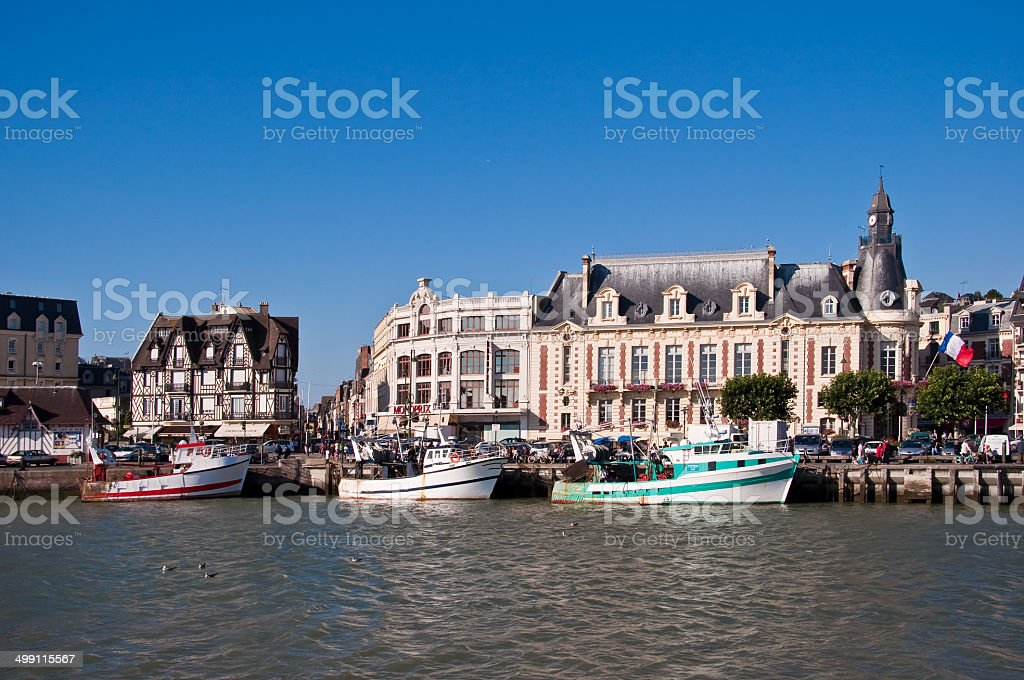 Trouville, Normandy, France stock photo