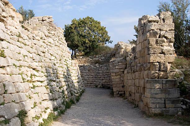 Troy archäologische Stätte, der Türkei. – Foto