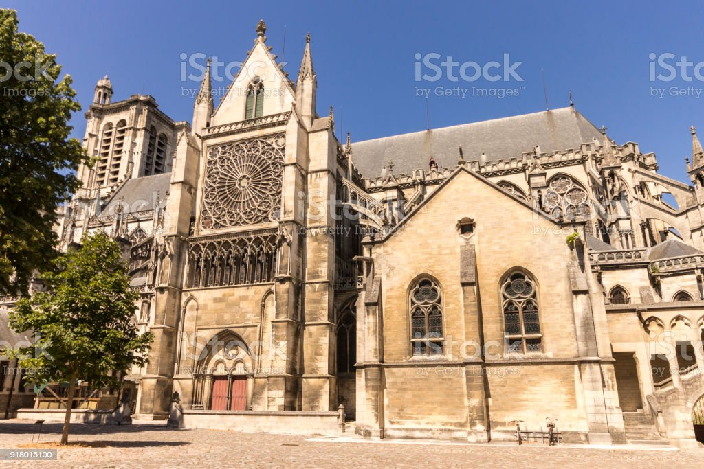 Troyes, France stock photo