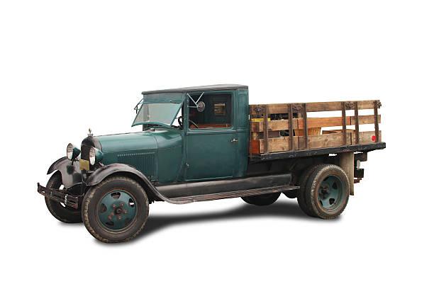 old tiefladeanhänger - alte wagen stock-fotos und bilder