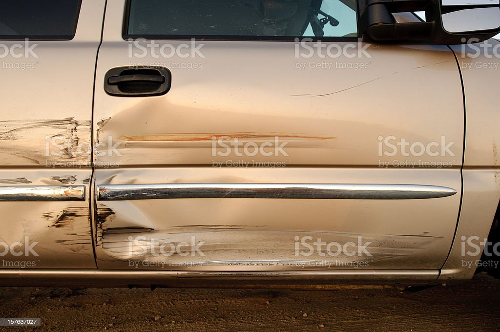Truck Accident royalty-free stock photo