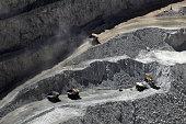 Truck at Chuquicamata, world's biggest open pit copper mine