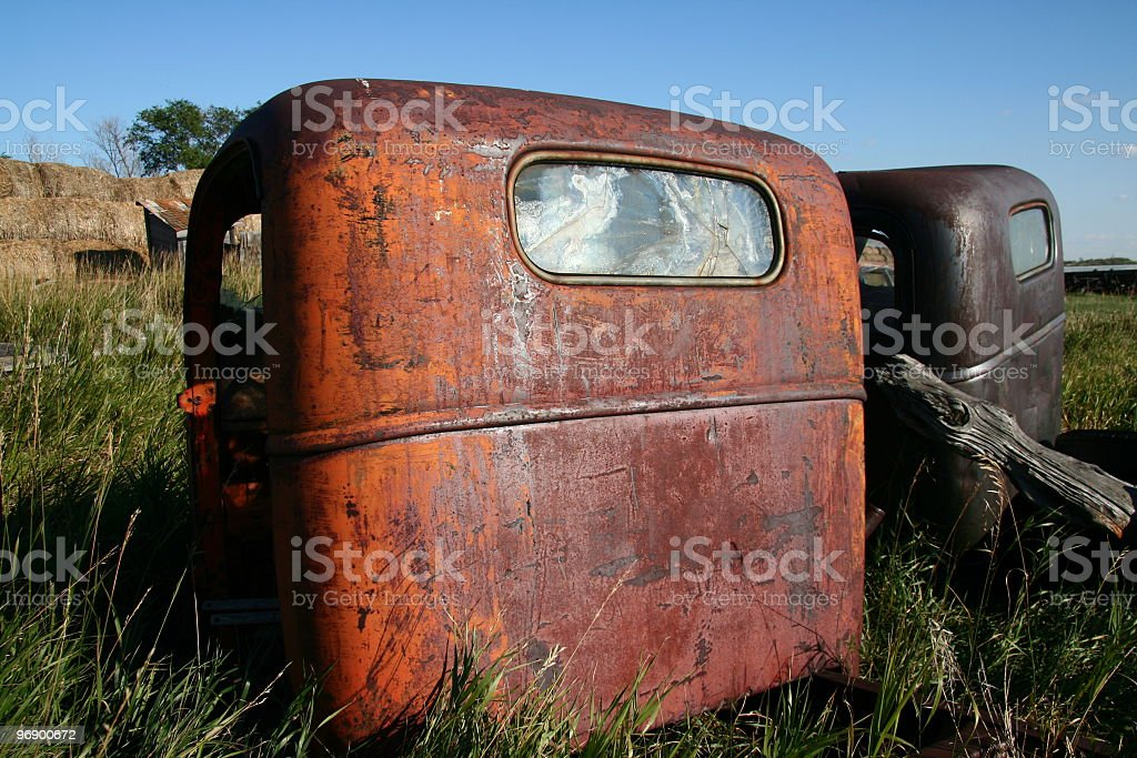 Truck Cab Art royalty-free stock photo