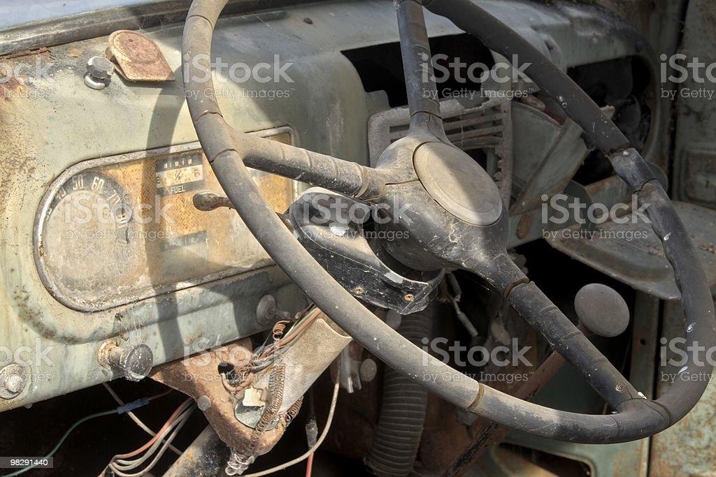 Truck Cab stock photo