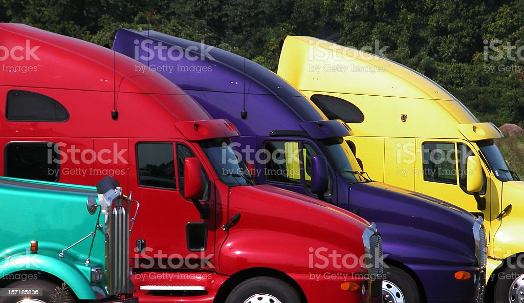 Truck Cabs royalty-free stock photo