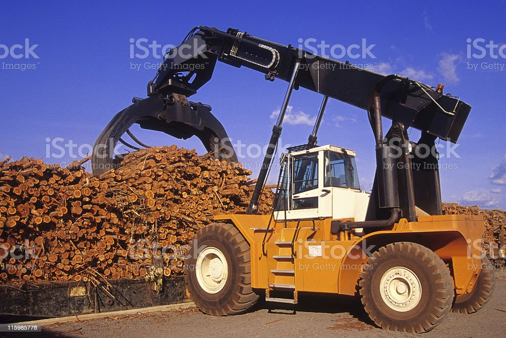 Truck carrying truncks royalty-free stock photo