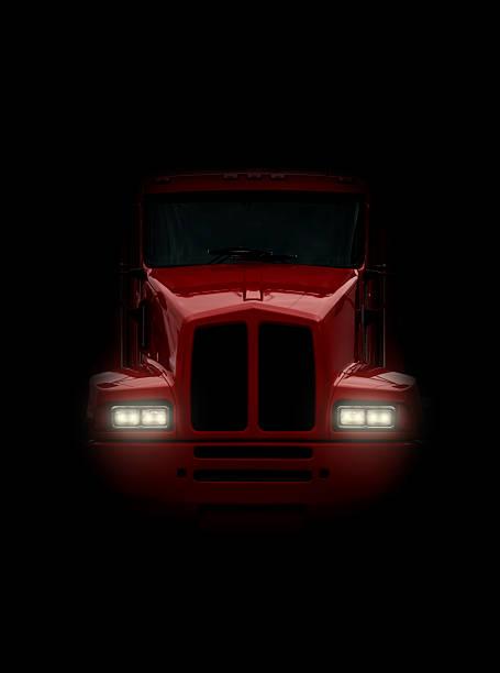 Truck in dem Kopf auf – Foto