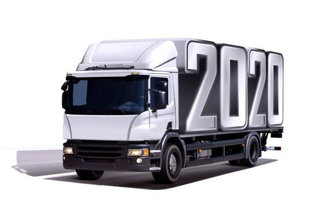 LKW liefert 2020 – Foto