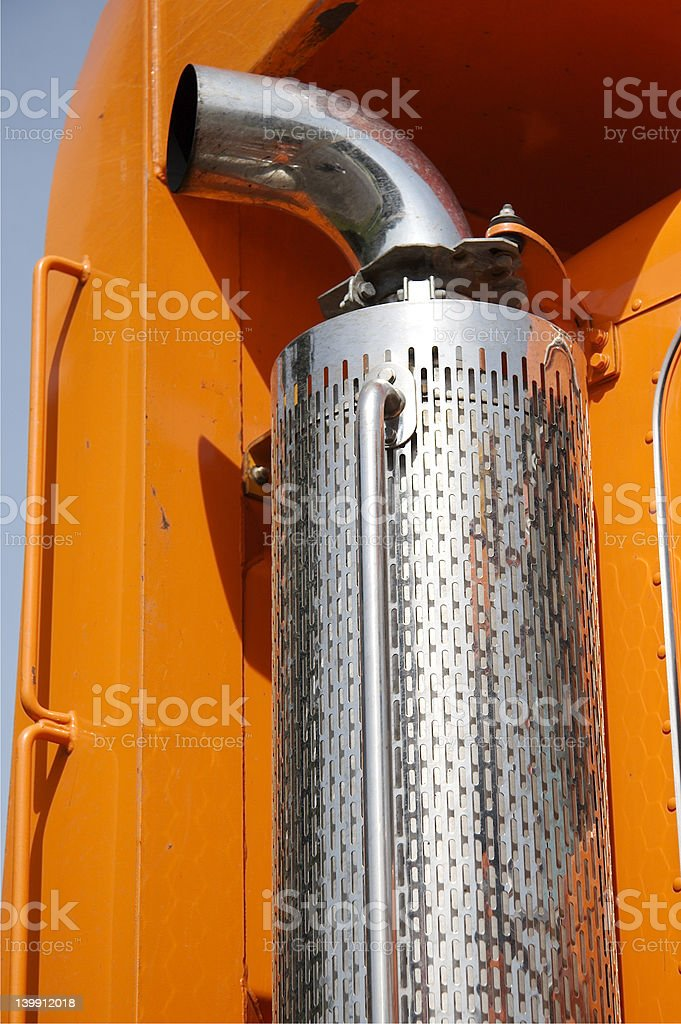 Truck Detail royalty-free stock photo