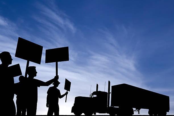 Lastwagenfahrer Schuss! – Foto