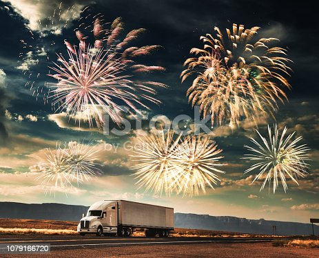 truck for the new year