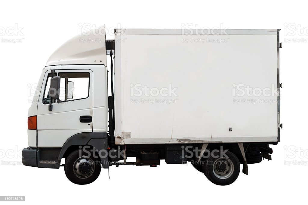 Truck Freight royalty-free stock photo