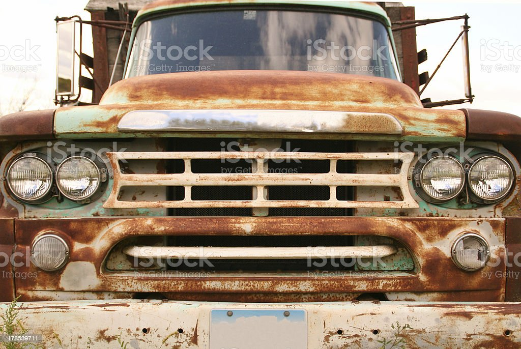 Truck Grill royalty-free stock photo