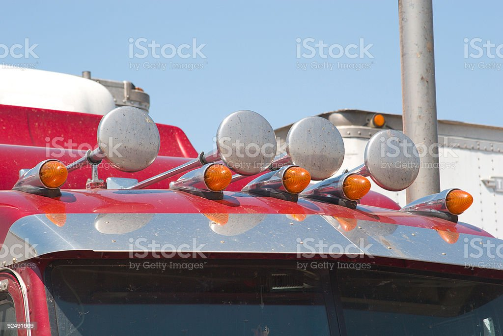 Truck Horns royalty-free stock photo