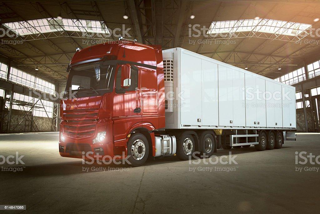 Truck in Garage – Foto